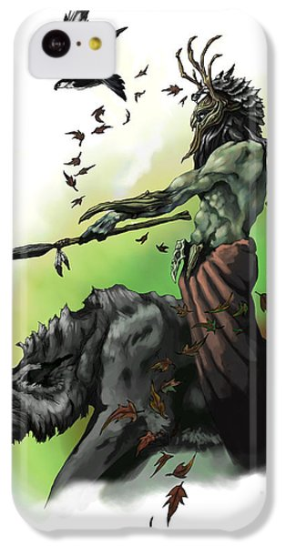 Dungeon iPhone 5c Case - Druid by Matt Kedzierski