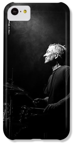 Drum iPhone 5c Case - Drummer Portrait Of A Muscian by Bob Orsillo