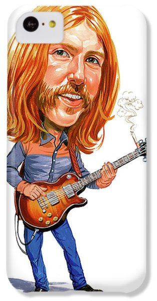 Duane Allman IPhone 5c Case by Art