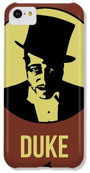 Duke iPhone 5c Case - Duke Poster 1 by Naxart Studio