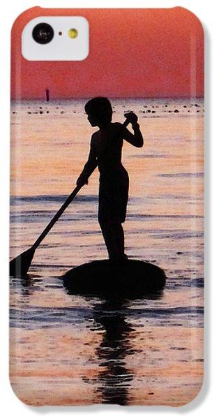 Dusk Float - Sunset Art IPhone 5c Case