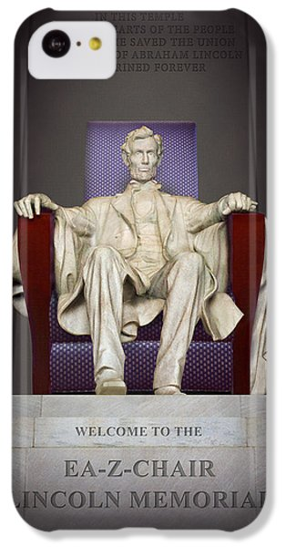 Ea-z-chair Lincoln Memorial 2 IPhone 5c Case