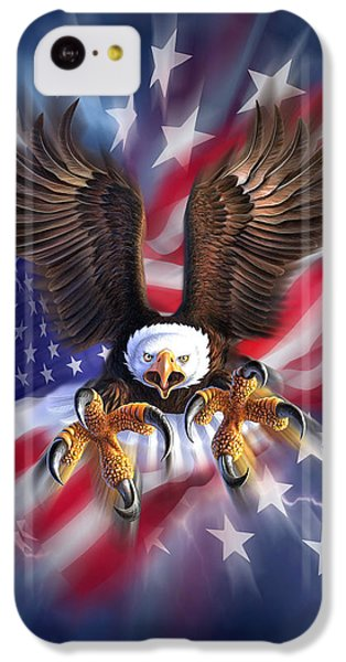 Eagle iPhone 5c Case - Eagle Burst by Jerry LoFaro