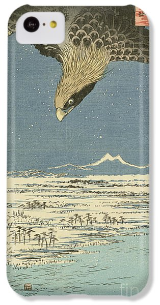 Eagle Over One Hundred Thousand Acre Plain At Susaki IPhone 5c Case by Hiroshige