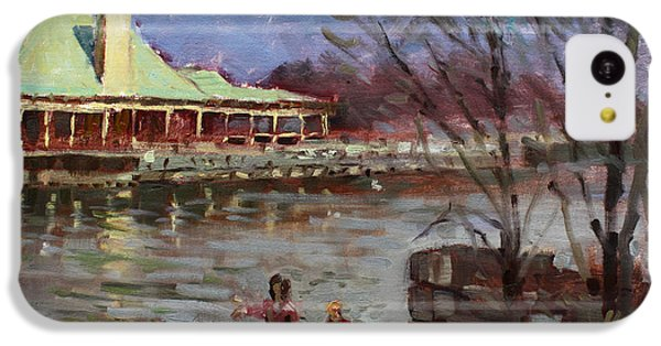 Swan iPhone 5c Case - Early Spring In Portcredit Mississauga by Ylli Haruni