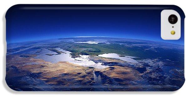 Turkey iPhone 5c Case - Earth - Mediterranean Countries by Johan Swanepoel