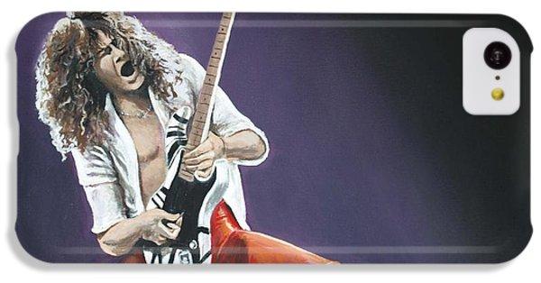 Eddie Van Halen IPhone 5c Case by Tom Carlton