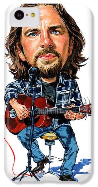 Eddie Vedder IPhone 5c Case by Art