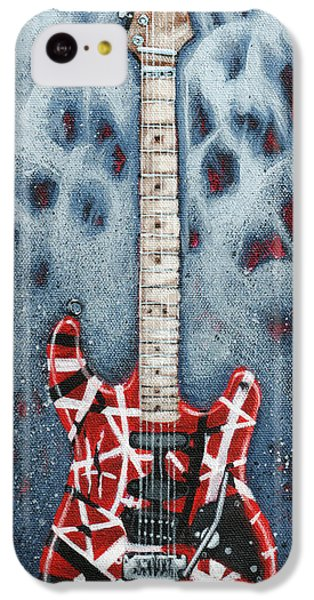 Eddie's Frankenstrat IPhone 5c Case