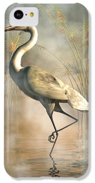 Egret IPhone 5c Case by Daniel Eskridge