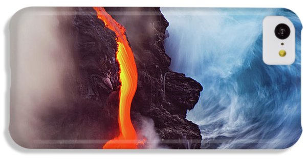 Flow iPhone 5c Case - Elements Of Nature by Andrew J. Lee