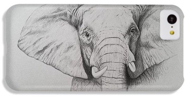 Elephant IPhone 5c Case by Ele Grafton