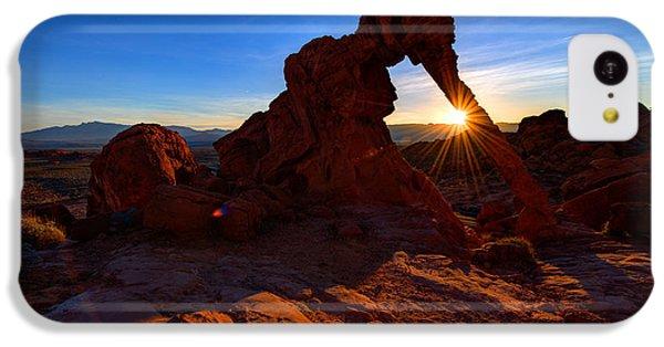 Beautiful Sunrise iPhone 5c Case - Elephant Sunrise by Chad Dutson