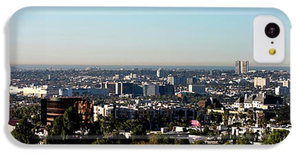Elevated View Of City, Los Angeles IPhone 5c Case by Panoramic Images
