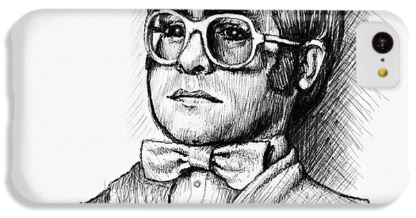 Elton  IPhone 5c Case by Cristophers Dream Artistry
