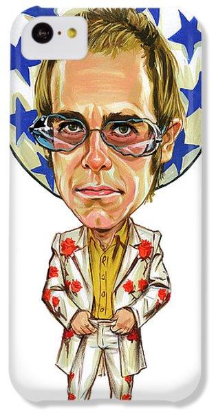 Elton John IPhone 5c Case by Art