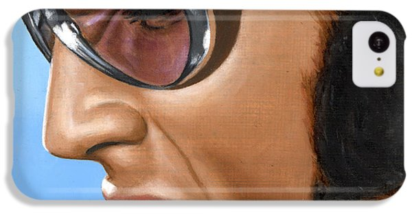 Elvis 24 1970 IPhone 5c Case by Rob De Vries