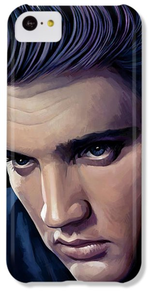 Elvis Presley Artwork 2 IPhone 5c Case by Sheraz A