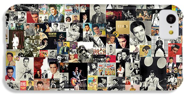 Rhythm And Blues iPhone 5c Case - Elvis The King by Zapista