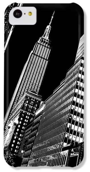Empire State Building iPhone 5c Case - Empire Perspective by Az Jackson
