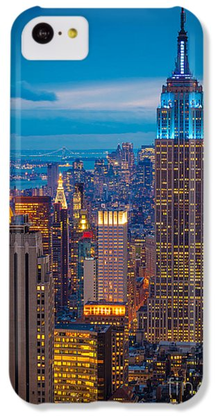 Empire State Blue Night IPhone 5c Case
