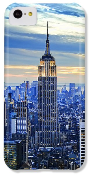 Empire State Building New York City Usa IPhone 5c Case by Sabine Jacobs