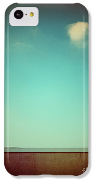 Emptiness With Wall And Cloud IPhone 5c Case by Silvia Ganora
