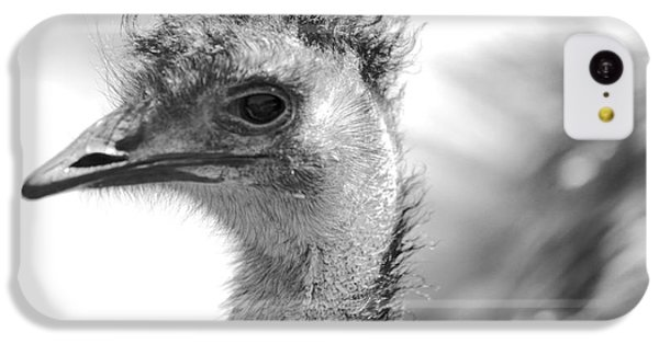 Emu - Black And White IPhone 5c Case by Carol Groenen