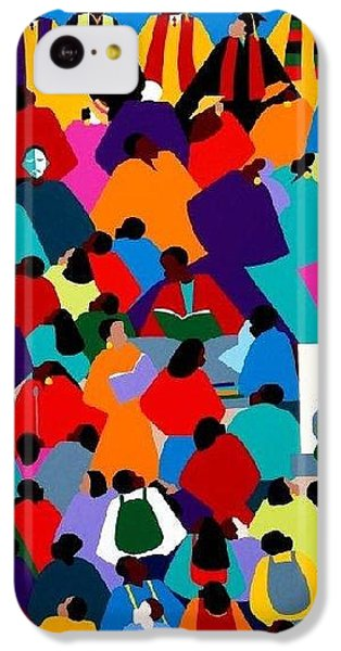 iPhone 5c Case - Enlightenment Asu by Synthia SAINT JAMES