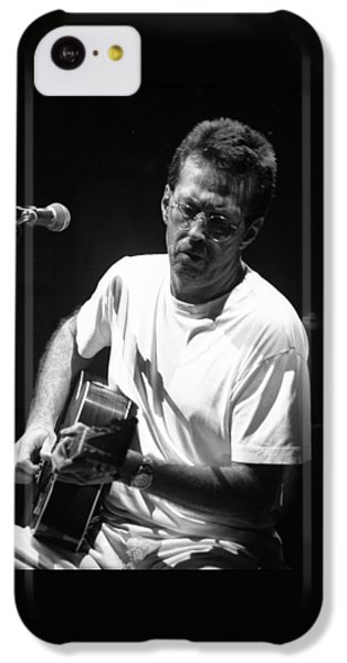 Eric Clapton iPhone 5c Case - Eric Clapton 003 by Timothy Bischoff