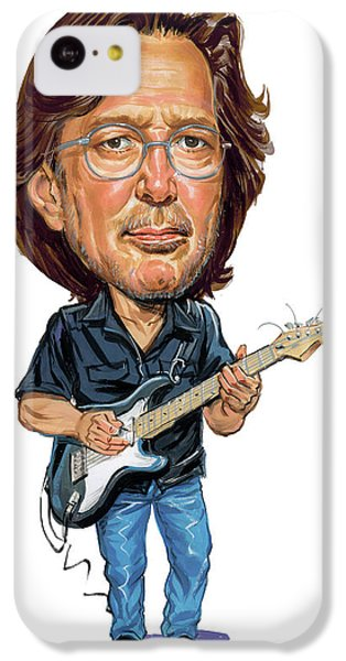 Eric Clapton iPhone 5c Case - Eric Clapton by Art