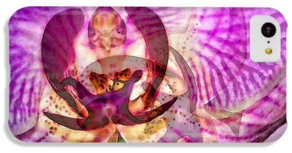 Ethereal Orchid By Sharon Cummings IPhone 5c Case by Sharon Cummings