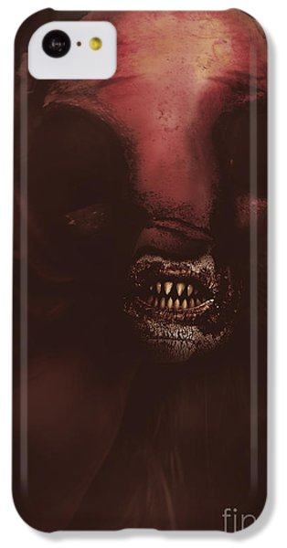 Minotaur iPhone 5c Case - Evil Greek Mythology Minotaur by Jorgo Photography - Wall Art Gallery