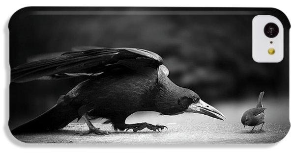 Raven iPhone 5c Case - Evil by Richard Bires