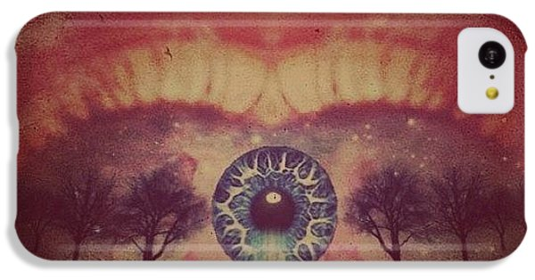 Edit iPhone 5c Case - eye #dropicomobile #filtermania by Tatyanna Spears