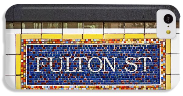 F Is For Fulton Street IPhone 5c Case