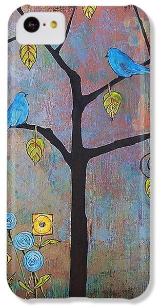 Bluebird iPhone 5c Case - Feathered Friends by Blenda Studio