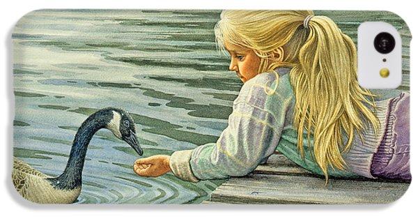 Feeding The Canada Goose IPhone 5c Case