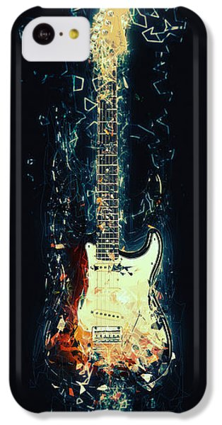 Eric Clapton iPhone 5c Case - Fender Strat by Zapista