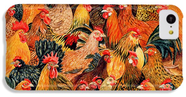 Rooster iPhone 5c Case - Fine Fowl by Ditz