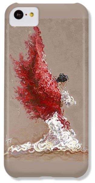 Figurative iPhone 5c Case - Fire by Karina Llergo