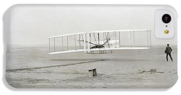 Transportation iPhone 5c Case - First Flight Captured On Glass Negative - 1903 by Daniel Hagerman