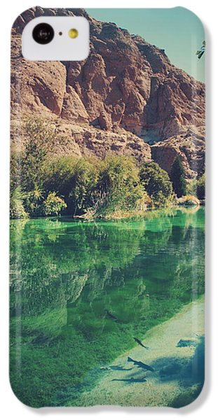 Desert iPhone 5c Case - Fish Gotta Swim by Laurie Search
