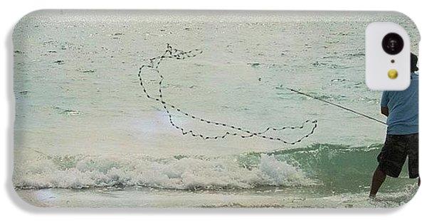 Beautiful iPhone 5c Case - #fishing #florida #clearwaterbeach by Georgia Fowler