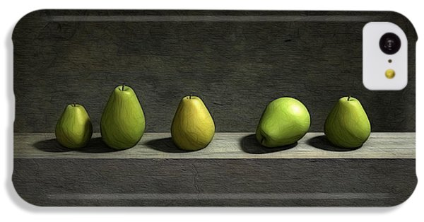 Five Pears IPhone 5c Case by Cynthia Decker