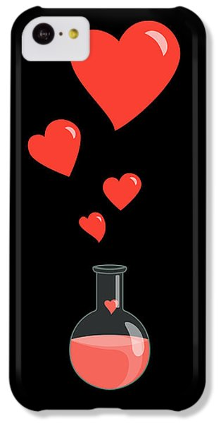 Valentines Day iPhone 5c Case - Flask Of Hearts by Boriana Giormova
