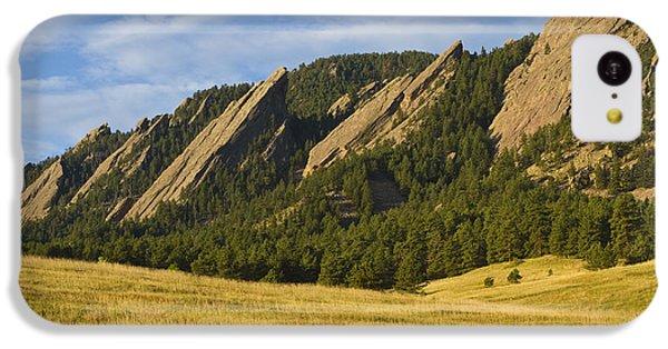 Flatiron Morning Light Boulder Colorado IPhone 5c Case