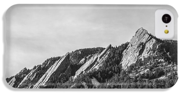 Flatirons B W IPhone 5c Case by Aaron Spong