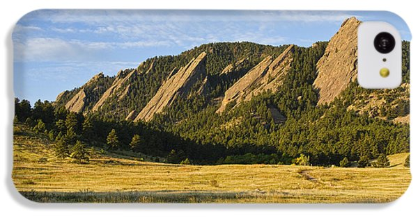 Flatirons From Chautauqua Park IPhone 5c Case by James BO  Insogna