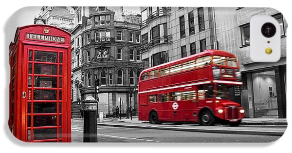 Big Ben iPhone 5c Case - Fleet Street London by Delphimages Photo Creations